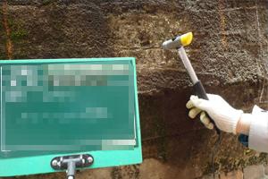 コンクリート強度確認試験イメージ